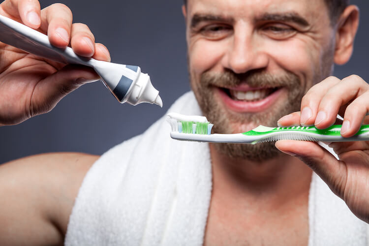 Toothpaste for growing beard